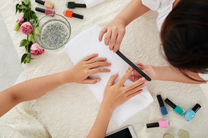 Cosmetische manicure & pedicure